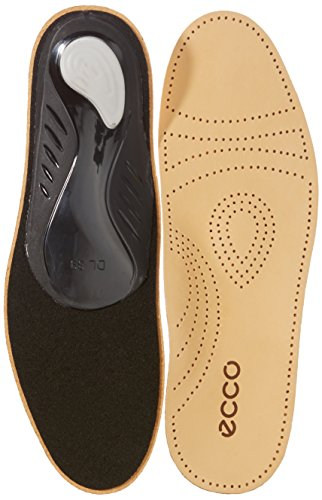 ECCO Premium Leather Footbed Einlegesohlen, Braun (Lion) 36 EU