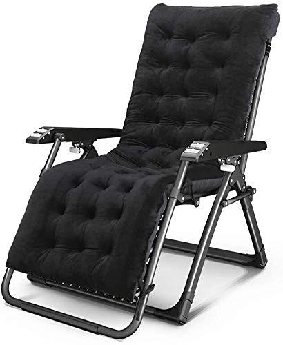 OESFL Sillas Silla del Patio de la Gravedad Cero Ocioso sillón reclinable Plegable de Descanso por la Playa al Aire Libre Camping, Playa Exterior Ajustable sillas de Camping