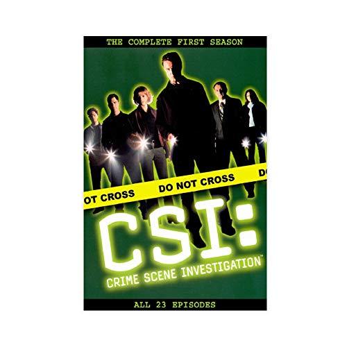 The TV Show CSI Crime Scene Investigation 2 Canvas Poster Decoración Dormitorio Deportivo Paisaje Oficina Decoración Habitación Regalo 60 × 90 cm Unframe style1