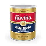 Café Gaviña Espresso Roast Extra Fine Ground Coffee, 10-Ounce Can