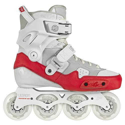 Powerslide Inline Skates Ultron Weiß Rot Größe 36