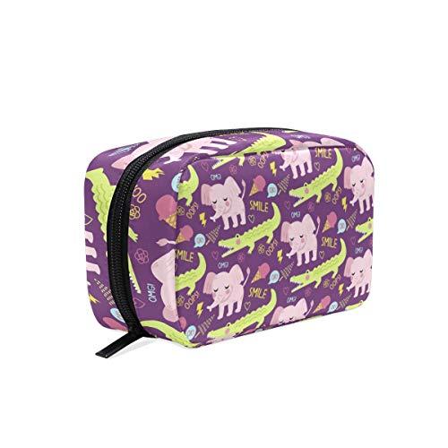 Trousse de toilette pour cosmétiques, maquillage, trousse de toilette pour sac à main, organiseur avec compartiments accessoires de voyage, mini femme