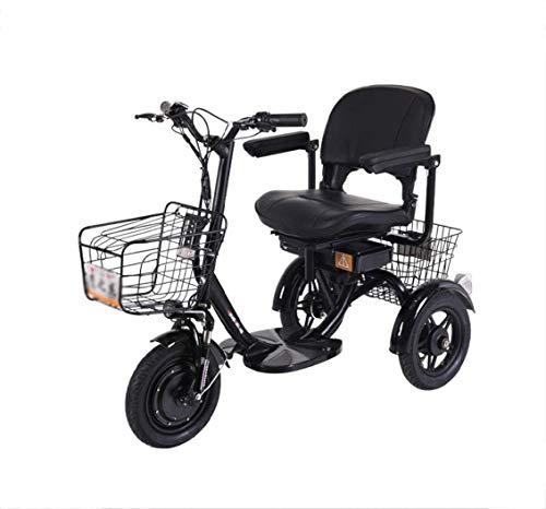 Triciclo Eléctrico Scooter Triciclo Para Adultos Bicicleta De 3 Ruedas Triciclo Eléctrico...