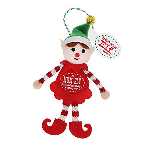 History & Heraldry Elfo decoración personalizada para árbol de Navidad – Mamá