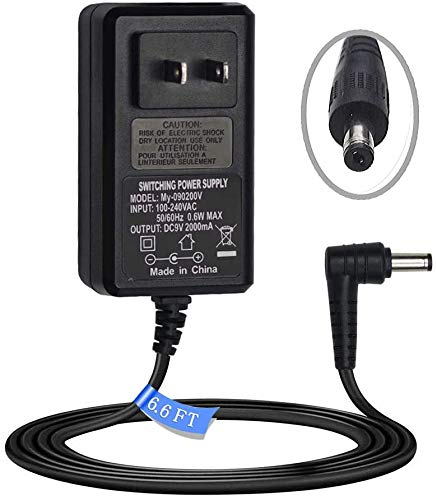 9V AC/DC Adapter Power Supply Cord for Schwinn 230 220 202 120 270 213 222 130 A20 122 170 150 125 A10 A40 101 240 430 420 460 Recumbent Exercise Bike Elliptical Trainer