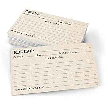 Best 3x5 recipe cards Reviews