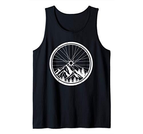 Mountainbike-Reifen Natur Radfahren Outdoor Biking Biker Tank Top