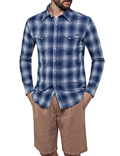 REPLAY M4981 .000.52228 Camisa, Multicolor (Mehrfarbig 10), X-Large para Hombre