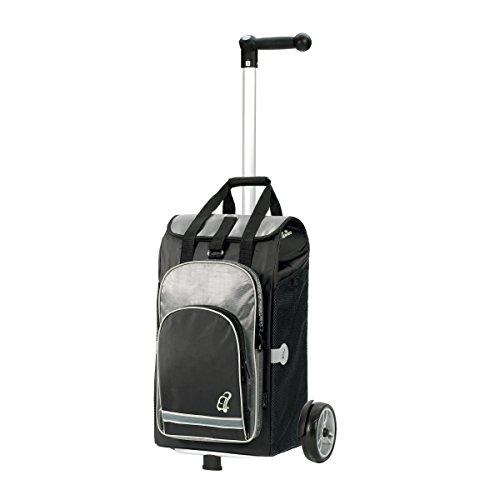 Andersen Shopper Unus und 60 Liter Einkaufstasche Hydro schwarz mit Kühlfach