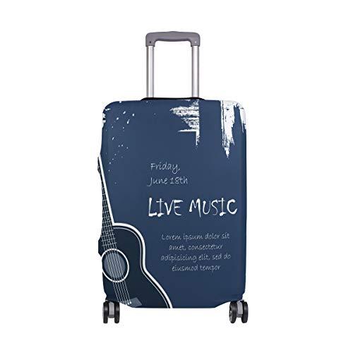 Koffer aus Elastan, für Akustikgitarre, für Erwachsene, Damen, Herren, Teenager, für 45,7 - 50,8 cm