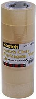 Scotch 301T-50Y6T Packaging Tape Tan 48 MM X 50 YDS 301T-50Y6T