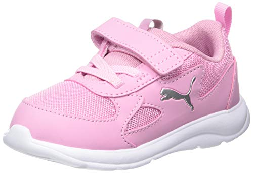 PUMA Fun Racer AC INF, Zapatillas Unisex niños, Rosa (Pale Pink/Pale Pink), 38 EU