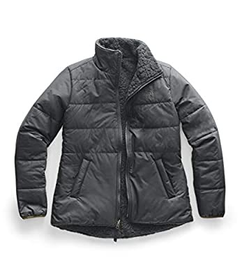 The North Face Women's Merriewood Reversible Jacket, Asphalt Grey, L by The North Face