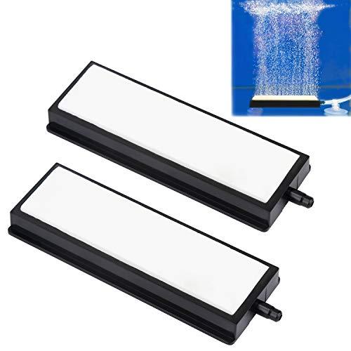Uniclife 10 cm Luftstein Mikroblasen Diffusor für Aquarium, 2er Pack