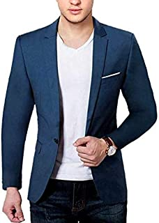 58c59044 Amazon.in: Blues - Suits & Blazers / Men: Clothing & Accessories