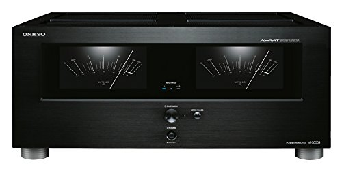 Onkyo M-5000R (B) Amplificatore, Nero