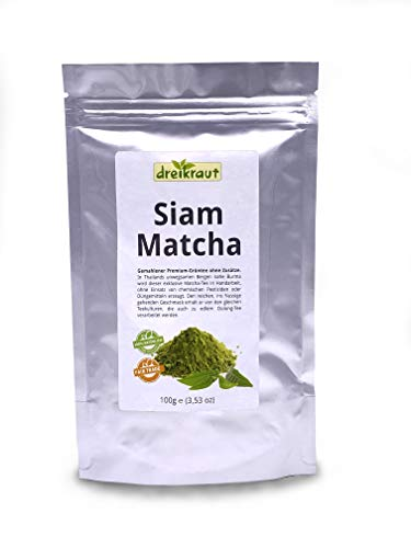 Premium-Matcha aus Nord-Thailand, 100g, edler Hochgebirgs-Tee, naturbelassener Anbau