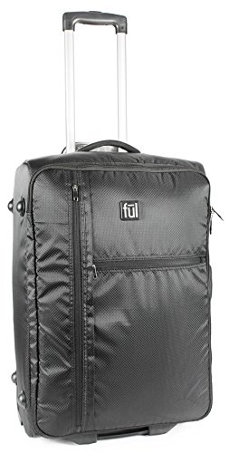 "Ful Fold Up 22"" Soft Sided Rolling Suitcase"