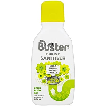 Buster Active Citrus Sanitiser Gel, Kills germs and bad smells 300ml