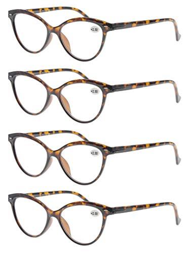 MODFANS Un Pack Cuatro Gafas Lectura 4.0
