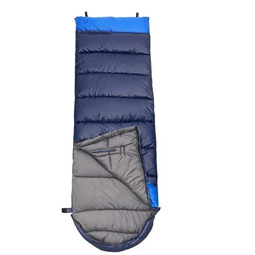 Jcnfa-sac de couchage Coton Creux Pause Déjeuner Camping Automne Et Hiver Peut Être Épissé (Couleur : A, Taille : C1.05)
