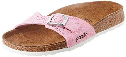 Papillio Madrid, Sandale Femme, Rose (Glitter Hologram Pink), 37 EU Étroit