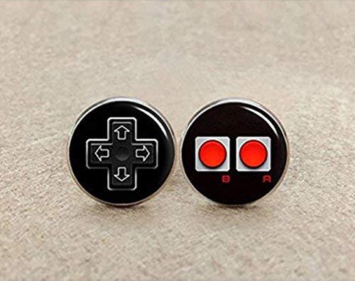 Video Game Controller Manschettenknöpfe Manschettenknöpfe, Controller, Gamepad, Manschettenknöpfe