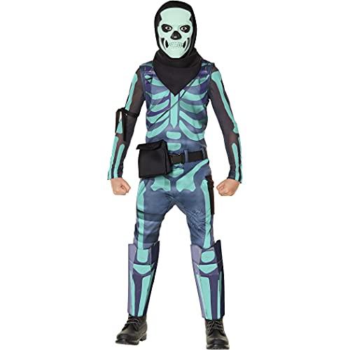InSpirit Designs Licensed FortNite Green Skull Trooper with Glow in...
