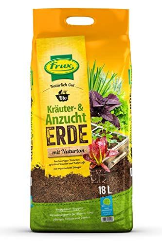 frux® Bio Kräuter- & Anzuchterde mit Naturton - 18 Liter