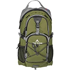 SATISFY YOUR THIRST FOR ADVENTURE: Lightweight and comfortable; This hydration pack is a terrific companion for all your day-long or overnight hydration needs; Size 1100 Cubic Inches (18 L) FREE HYDRATION BLADDER: 2-Liter; Durable, kink-free sip tube...
