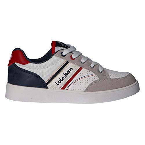 LOIS JEANS Sneaker für Damen und Mädchen und Junge 63058 06 Blanco Schuhgröße 33 EU