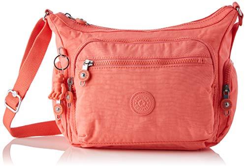 Kipling Bandolera Gabbie S para mujer, talla única, color Rojo, talla One Size
