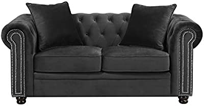 Amazon.com: Firma diseño por Ashley 4400035 Kieran Loveseat ...