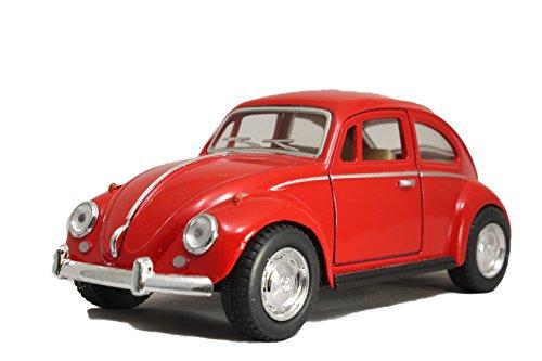 Modellauto / Käfer / mit Rückzugantrieb /1:32 / ca. 12 cm / Vier Farben / Rot / Weiss / Blau oder Schwarz / Zufallsauswahl / Käfer