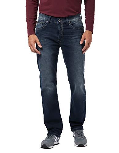 Pioneer Herren Rando Hand Crafted Straight Jeans, Blau (Dark Used with Buffies 475), W38/L32 (Herstellergröße: 3832)
