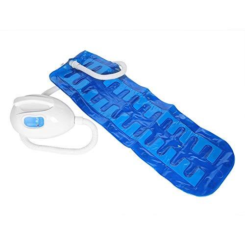 Elektrische badkuip Bubble-massagemat, waterdichte badmassage-spa, bubbelbadmat Bad-spa-massager met afstandsbediening Verstelbare bubbelinstellingen, met warmte (wind) -functie 45.7X14.8In(EU 220V)