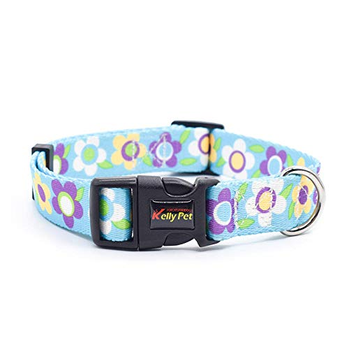 Collar de perro para perros pequeños, diseño colorido y suave, para perros pequeños, collar ajustable de nailon, para accesorios de perro grande, collar 3_XS