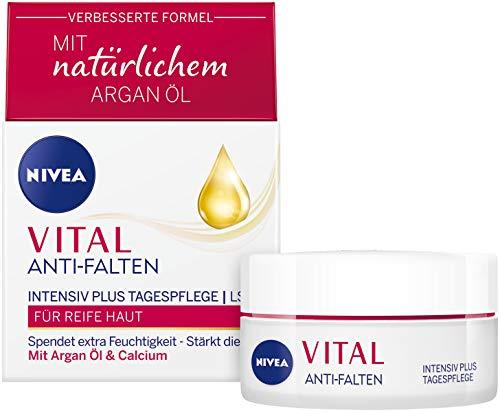 NIVEA Vital Anti-Falten Intensiv Plus Reichhaltige Tagespflege im 1er Pack (1 x 50 ml) Tagescreme...