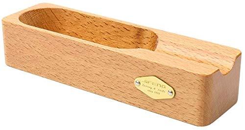 AMITD Mode sigaar cilinder asbak ornamenten ashouder rechthoek massief hout asbak voor rook tabak glas