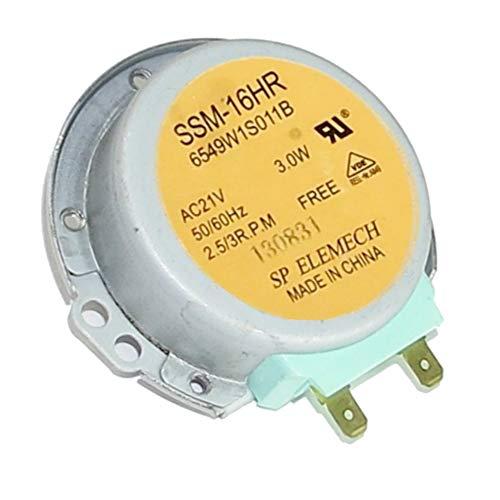 LGelectronics Motor Giratorio microondas LG 6549W1S011A SSM-16HR 21V 180mA 3W 50/60HZ