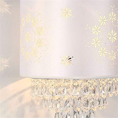 YHtech Lámparas de pie, Led dormitorio creativo de la sala de noche de cristal luces de piso