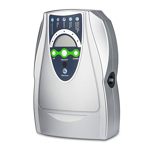 VTAR Ozone Generator, 500mg/h Multipurpose Ozone Machine Purify Air, Water, Fruits, Vegetables, Toothbrushes