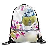 DHNKW Dog Wearing Sunglasses Print Drawstring Backpack Rucksack Shoulder Bags Gym Bag Sport Bag