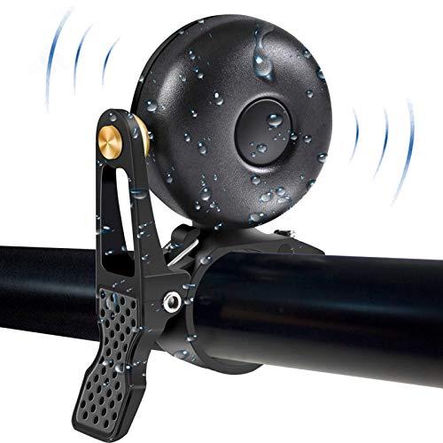 JorYoo Fahrradklingel Laut 120db,Retro Schwarz Kleine Klingel Fahrrad für Mountainbike,Kupferlegierung Anti-Rost Mini Fahrradglocke für Rennrad