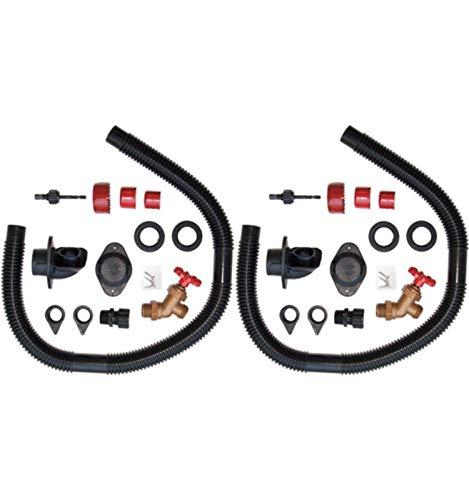 cheap EarthMinded Rain Barrel Diverter Kit, 2 – Water Barrel / Rain Barrel Adapter Kit,…