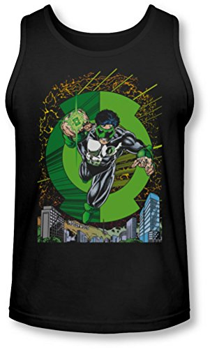 Green Lantern - - Gl # 51 Cover Tank-Top pour hommes, X-Large, Black