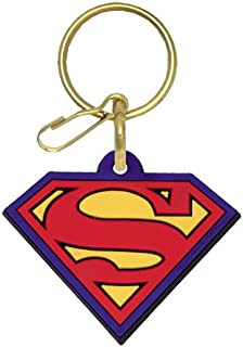 Superman Plastisol Key Chain