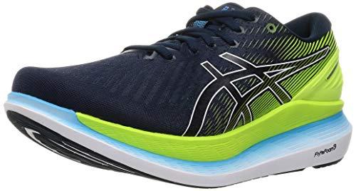 Asics 1011B016-400_42,5, Zapatos para Correr Hombre, French Blue Hazard Green, 42.5 EU