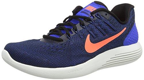 Nike Herren Lunarglide 8 Laufschuhe, Schwarz (Schwarz/Anthrazit/Weiß), 43 EU