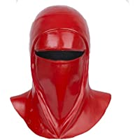 Yacn Imperial Royal Guard Mask Cosplay, Royal Guards Casco disfraz Imperial Guard Headgear, 2018 película Star War, látex, rojo